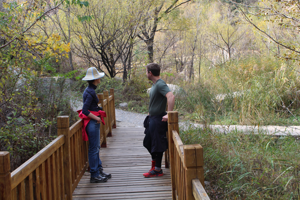 Into the Little West Lake park - Longquanyu and Little West Lake Great Wall, 2015/10/24