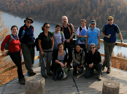 Hiking group, Beijing Hikers Aershan Forest National Park