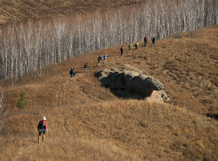 Ridgeline, Beijing Hikers Aershan Forest National Park