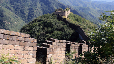 The last tower on the Great Wall Spur trail