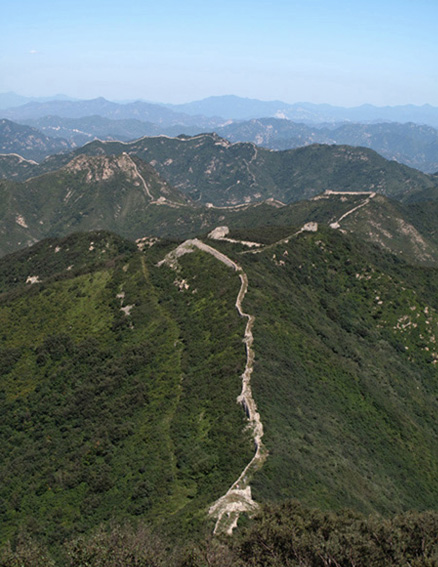 Mountains and Great Wall, Beijing Hikers Highest Tower hike, 2009-09-12