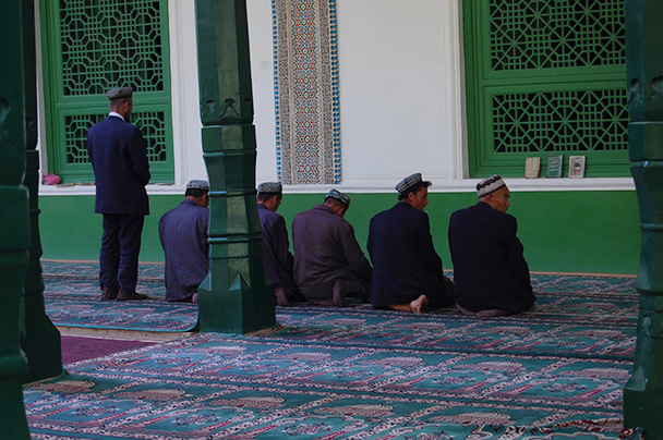Back in Kasghar, we had a look about Id Kar Mosque,Beijing Hikers Kashgar and Lake Karakul trip 2013/08/20