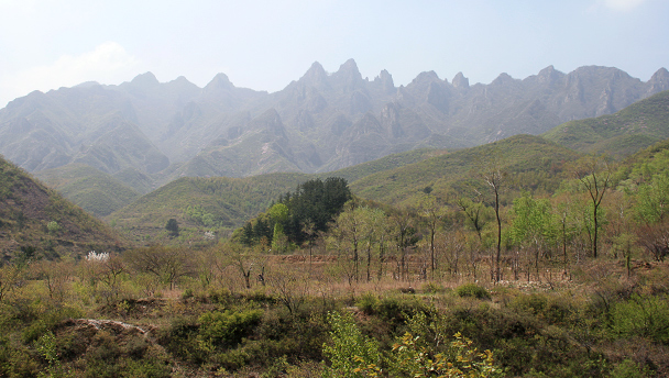 Mountains in west Beijing